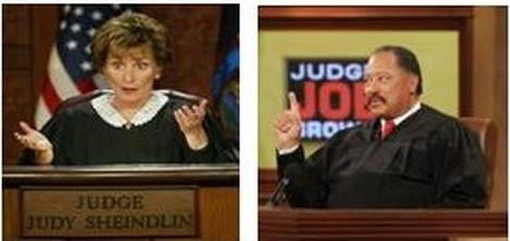 Judges Who Host TV Courtroom Shows