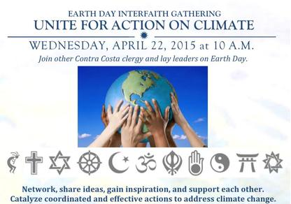 Religions and Denominations supporting Mankind's responsibity as Steward of the Planet