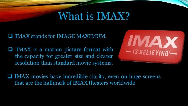IMAX Film Format, including a List of IMAX Theaters in the United States