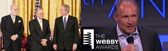Internet Hall of Fame and the Webby Awards