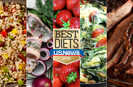Dieting including the Best Commercial Diets According to U.S. News and World Report