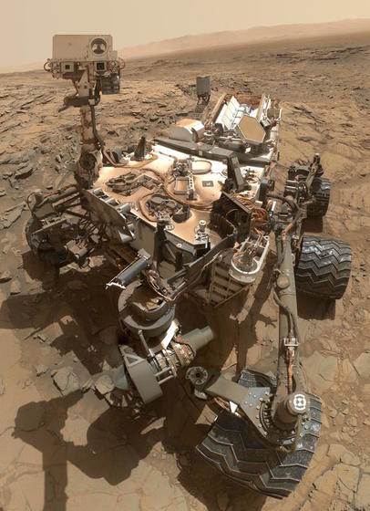 Mars Landing of the Curiosity Rover (2012)