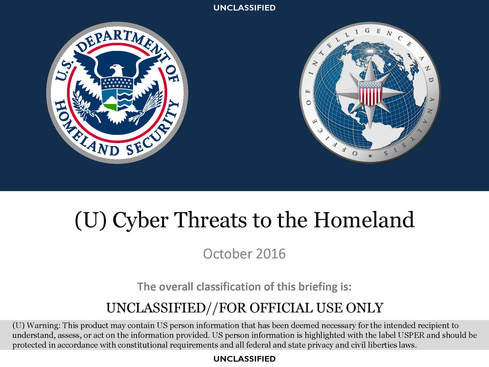 Cybersecurity in the United States